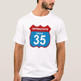 Interstate texas 35 T-Shirt