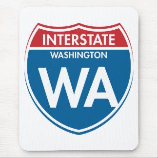 Interstate Washington WA Mouse Pad
