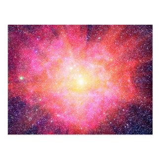 Interstellar Nebula Postcard