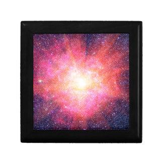 Interstellar Nebula Small Square Gift Box