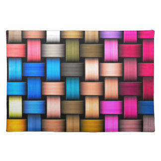 Intertwined abstract background placemat
