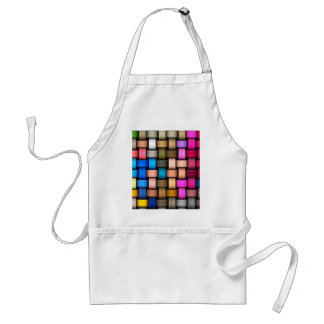 Intertwined abstract background standard apron