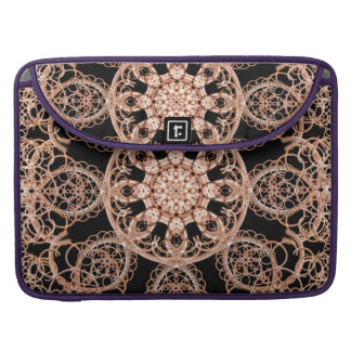 Intertwined Space Mandala Sleeves For MacBook Pro