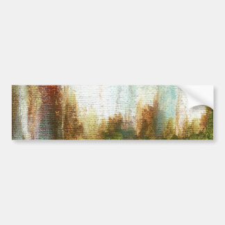 Interval From Original Painting Bumper Sticker