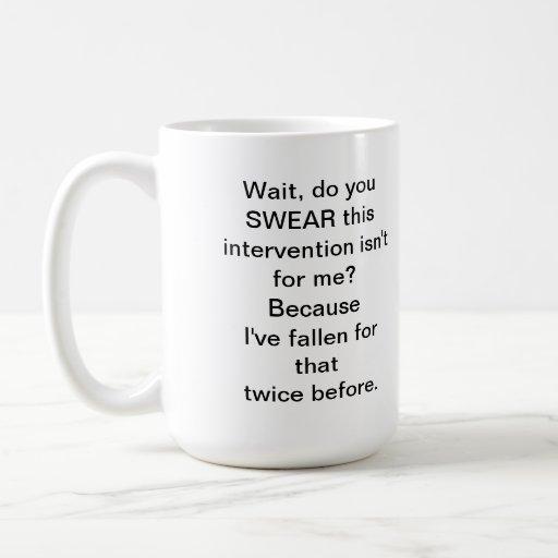 Intervention mug