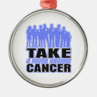 Intestinal Cancer -Take A Stand Against Cancer Christmas Ornaments