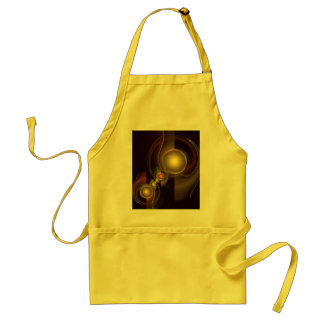 Intimate Connection Abstract Art Apron