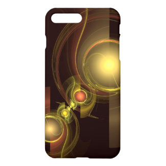 Intimate Connection Abstract Art Glossy iPhone 8 Plus/7 Plus Case
