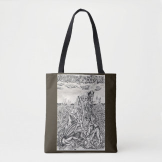 Intimidation, by Brian Benson Tote Bag