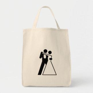 Int'l Sign for Bride & Groom Bag