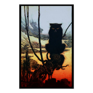 Into A Cat Poster
