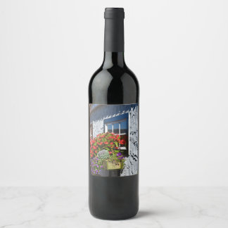Into Another World Wine Label