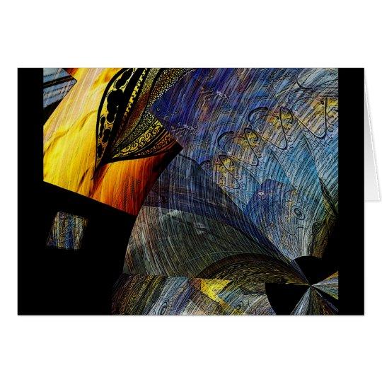 into dreams ~ surreal digital art note card