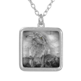 INTO DUST SILVER PLATED NECKLACE