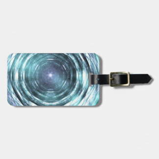 Into the black hole luggage tag