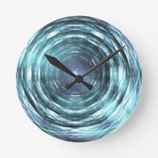 Into the black hole round clock