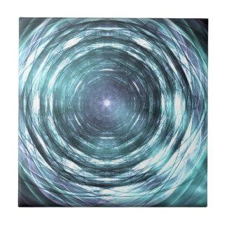 Into the black hole tile