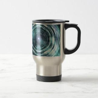 Into the black hole travel mug