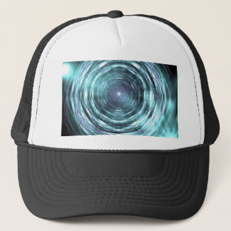 Into the black hole trucker hat