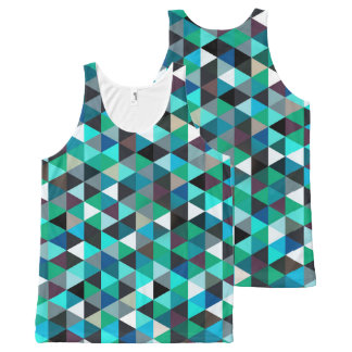 Into The Blue All-Over Print Tank Top