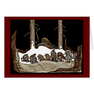 Into the Christmas Night - Greeting Card