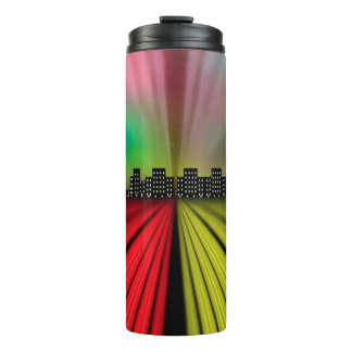 Into the City at Night Thermal Tumbler