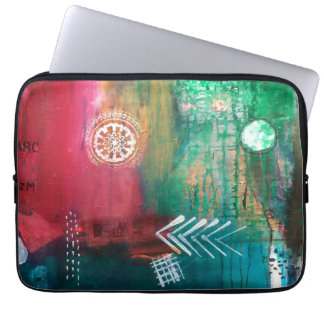 Into the Depths Macbook Sleeve