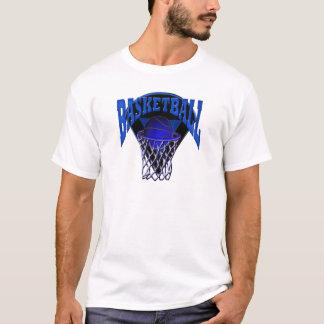 Into The Hoop Basketball and Backboard T-Shirt