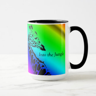 Into the Jungle (Giraffe)  ~ Coffee Mug