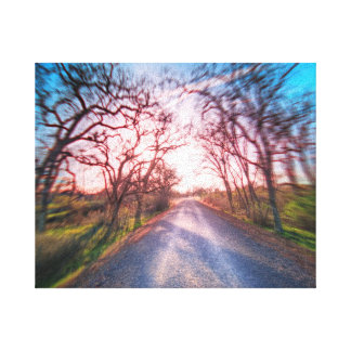 Into the Light Canvas Prints