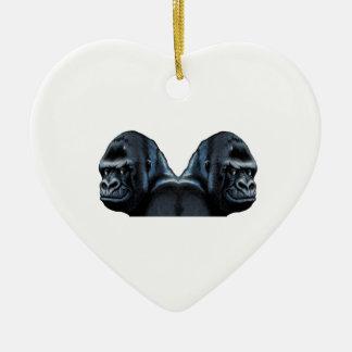 Into the Mist Ceramic Heart Decoration