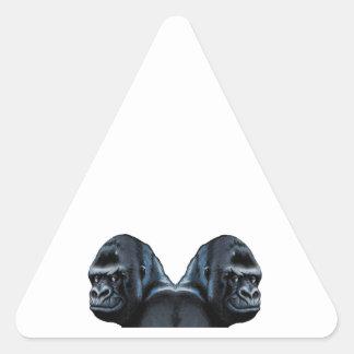 Into the Mist Triangle Sticker
