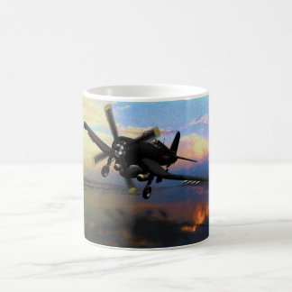Into the Night - F4U Night Fighter Coffee Mug