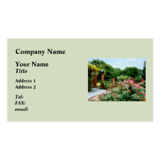 Into the Rose Garden Pack Of Standard Business Cards