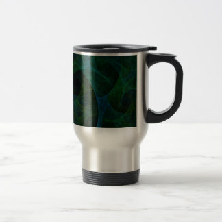 Into The Void Green Travel Mug