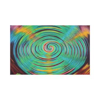 Into the Vortex Canvas Print
