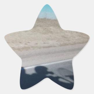 Into The Wild Blue Star Sticker