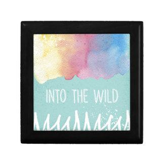 Into the Wild - Boho Watercolor Wanderlust Gift Box