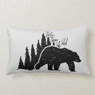 Into the Wild Lumbar Pillow