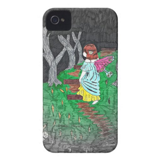 Into the Woods Fairy Blackberry Case