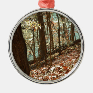 Into the Woods Metal Ornament