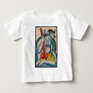 Intoxicated Shiva Holding Lamb Baby T-Shirt