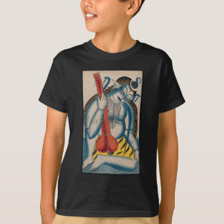 Intoxicated Shiva Holding Lamb T-Shirt
