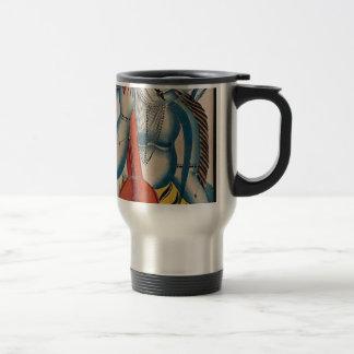 Intoxicated Shiva Holding Lamb Travel Mug