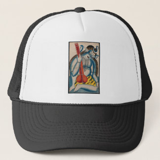 Intoxicated Shiva Holding Lamb Trucker Hat