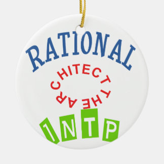 INTP Rational personality Ceramic Ornament