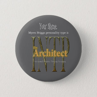INTP theArchitect 6 Cm Round Badge