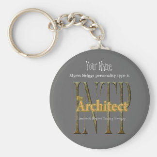 INTP theArchitect Key Ring