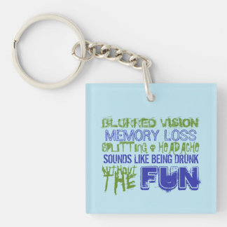 Intracranial Hypertension: Like Being Drunk Key Ring
