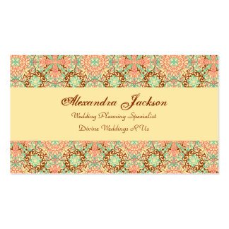 Intricate Arabesque, Business Card Templates